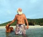 David Glasheen vit depuis 27 ans sur une île déserte