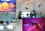 Hôtel de glace en Roumanie