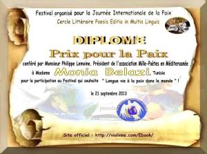 diplome Lemoine-Tuniselle Monia