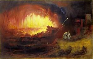 Sodome et Gomorrhe, John Martin