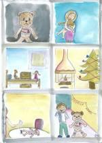 Le Noël de Teddy – Francine Fortier Alberton