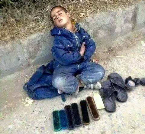 Riaz Hussain din Rawalpindi, Pakistan- Street children